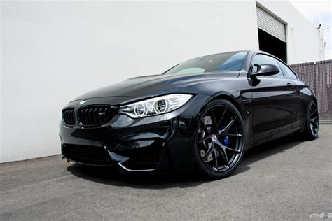 matte black bmw black sapphire bmw m4 with matte black hre wheels