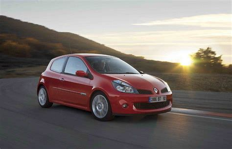 renault clio 2007 2007 renault clio rs review top speed