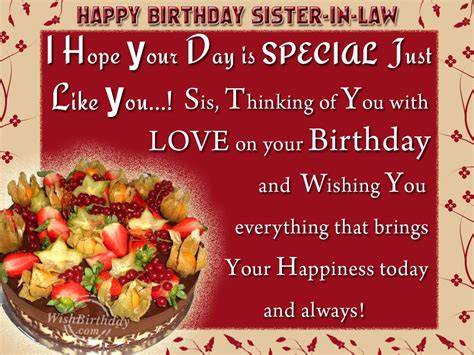 Happy Birthday Wishes To Our Happy Birthday Wishes Sister In Law 25877wall Jpg
