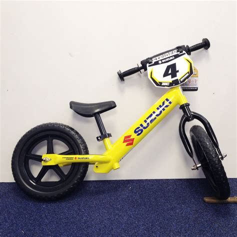 Suzuki Strider Bike Suzuki Genuine Strider Balance Bike Rc No 4 Replica