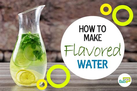 How To Make Your Own Detox Water At Home by How To Make Your Own Detox Water Fab How
