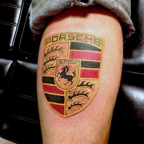 porsche tattoo designs 40 porsche ideas for german automobile designs