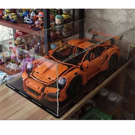 lego porsche size acrylic display for 911 porsche gt3 rs lego small