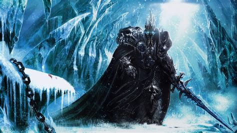frozen throne wallpaper hd world of warcraft lich king wallpaper pc game wallpapers