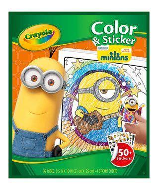 Minions Reusable Sticker Book 17 best images about minions on coloring books sticker books and despicable me 2