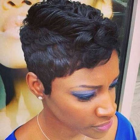20 short pixie haircuts for black women 2015 decor black short pixie hairstyles