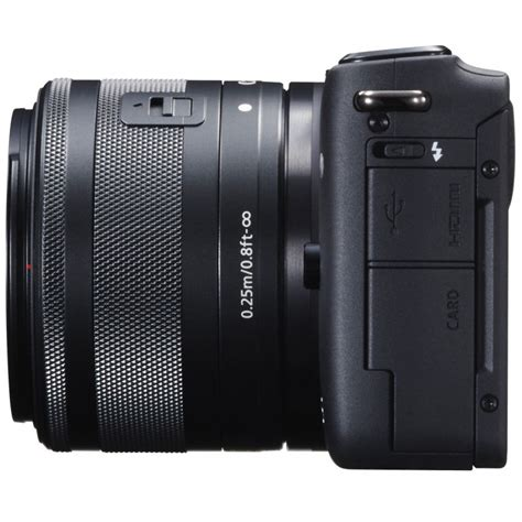 Canon Eos M10 Kit 15 45mm Is Stm Putih Kamera Mirrorless canon eos m10 15 45mm is stm kit black mirrorless cameras photopoint