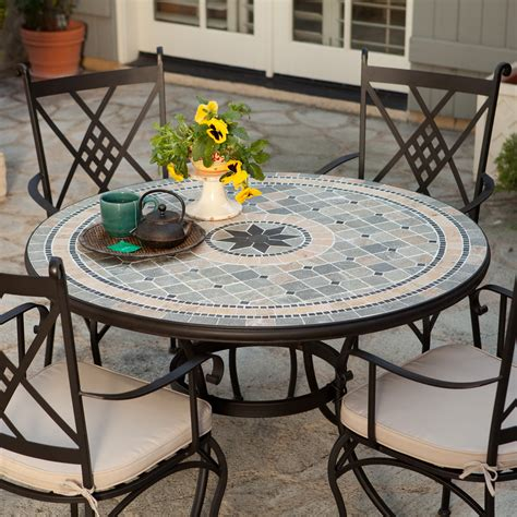 belham living barcelona    mosaic patio dining