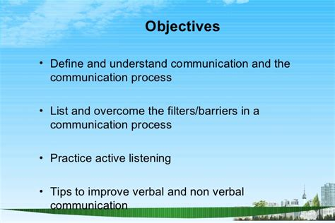 Business Communication For Mba Students Ppt by Effective Communication Skill Ppt Bec Doms Mba