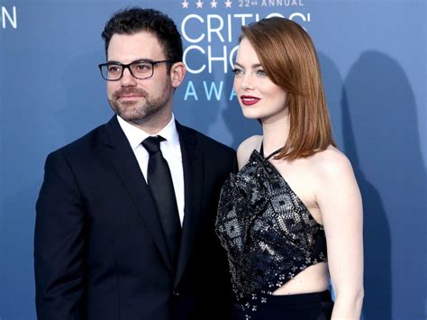 emma stone brother some stars opt to walk the red carpet with family abc news