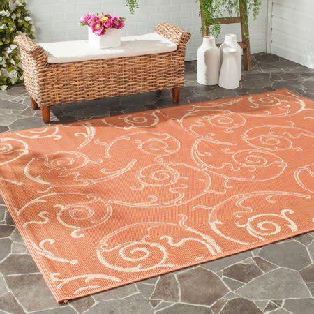 indoor outdoor rugs walmart safavieh courtyard daniel indoor outdoor area rug or