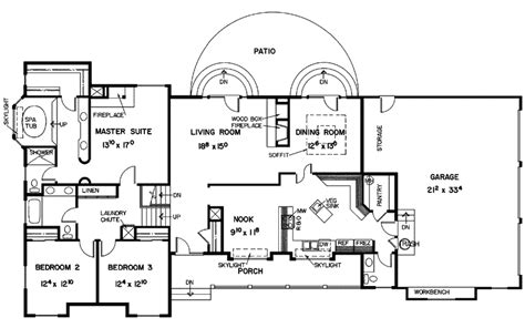 elsterberg luxury ranch home plan 085d 0349 house plans