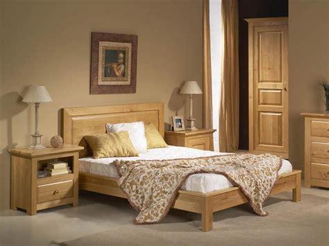 chambre adulte en bois massif cadre de lit mathilde en ch 234 ne massif avec tete de lit en bois plein meubles bois massif