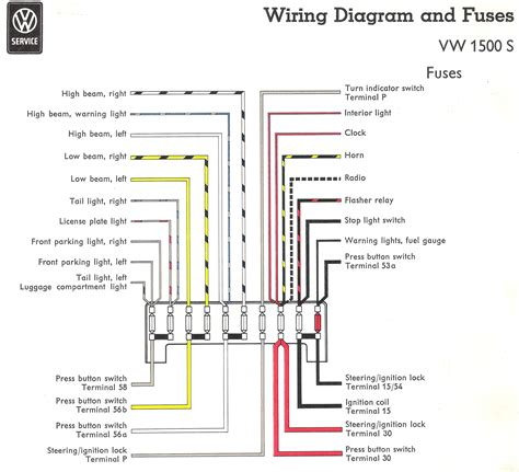 1970 vw fuse box 16 wiring diagram images wiring