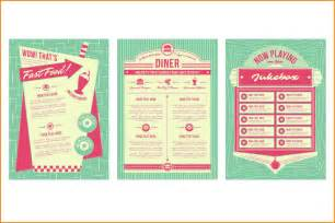 diner menu template free 4 diner menu template wedding spreadsheet