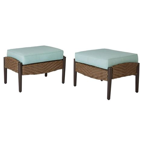home decorators collection bolingbrook patio ottoman with