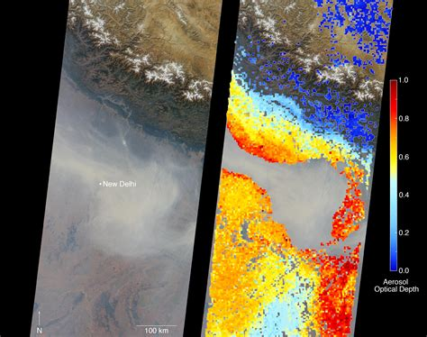 image gallery nasa chrysanthemum air space images severe air pollution in new delhi view by