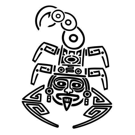 aztec tattoo designs free free coloring pages of aztec inca