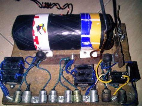 pengganti kondensor  alat setrum ikan alat setrum