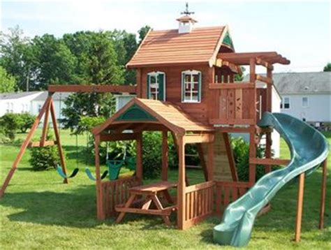 home swing set ashford swing set there s no place like home
