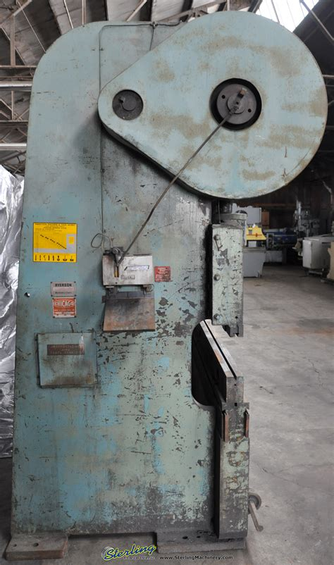 chicago mechanical clutch press brake sterling machinery