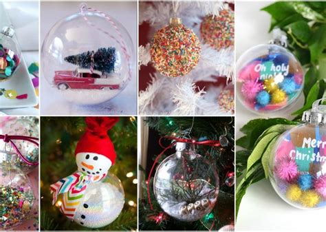 clear ornament decorating ideas preschool easy clear ornaments ideas that don t cost much