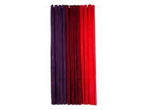 rideau ruby en velours 145 250 cm framboise ou prune