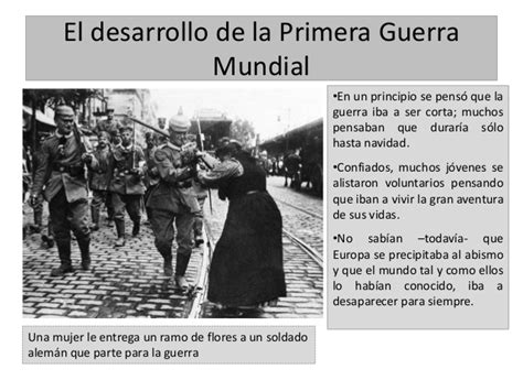 la primera guerra mundial etapas de la primera guerra mundial resumen