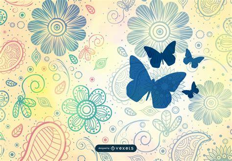 vintage pattern background vector vintage flower pattern background vector art vector download