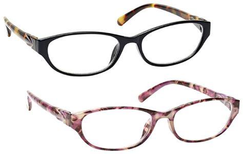 uv reader designer side arms reading glasses womens