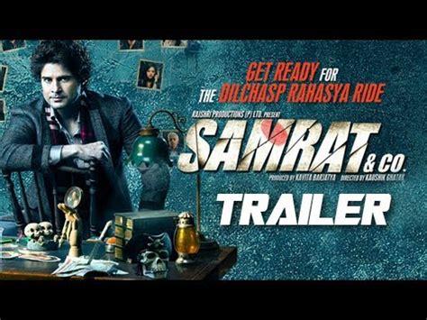 Samrat Co 2014 Film Samrat Co Rajeev Khandelwal Theatrical Trailer 2014 Bollywood Suspense Thriller Youtube