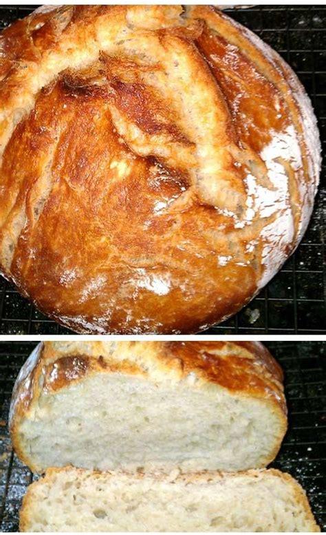 easy no knead dutch oven bread recipe my mom mom and