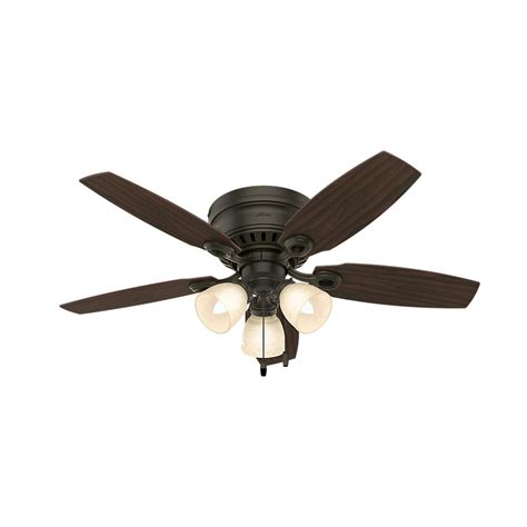 Bronze Ceiling Fan Light Kit by Hatherton 46 In Indoor New Bronze Ceiling Fan With