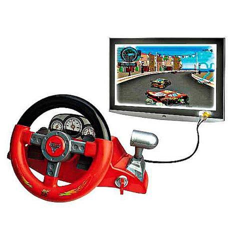volante car cars 2 consola volante para tv cars 2