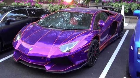 سيارة تغير لونها color changing car paint