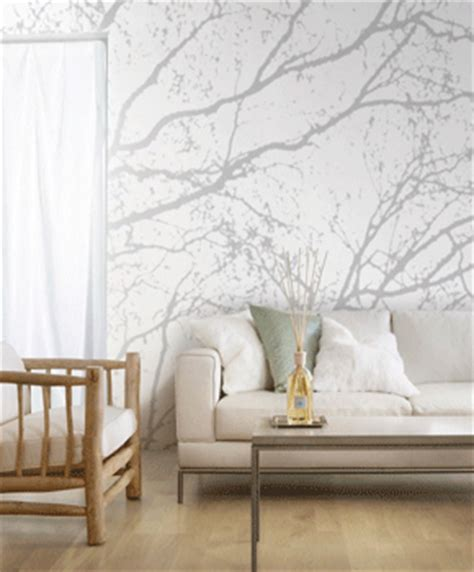 Decorating With Wallpaper by Modern Wallpaper Patterns Trees And Branches