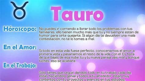 univision tauro hoy horoscopo del dia de hoy tauro hor 243 scopo del d 237 a