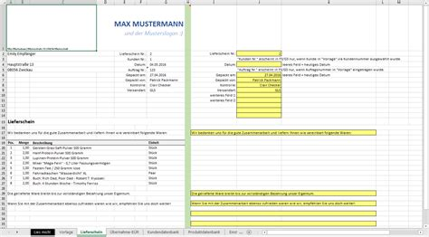 Word Vorlage Bedienungsanleitung Excel Vorlage Automatisierte Angebots Und Rechnungserstellung Inkl Produkt Und