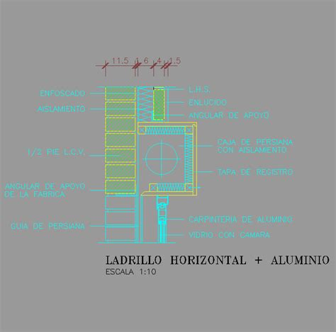 persiana dwg cad projects biblioteca bloques autocad arquitectura y