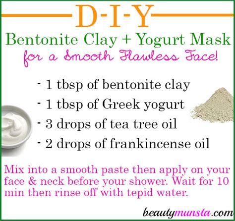 bentonite clay tattoo removal bentonite clay yogurt mask for skin diy treatment