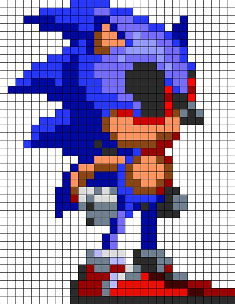 pattern visitor c exle sonic sprite pattern pictures to pin on pinterest pinsdaddy