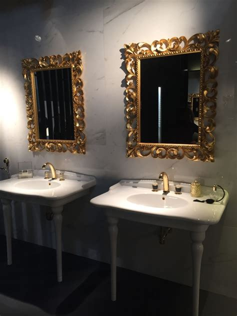 gold frame bathroom mirror the best 28 images of gold frame bathroom mirror gold