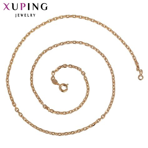 Xuping Gelang 12 12 1 11 11 xuping fashion necklace new design big necklace gold color plated necklace