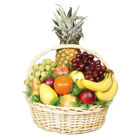large fruit basket deluca s market