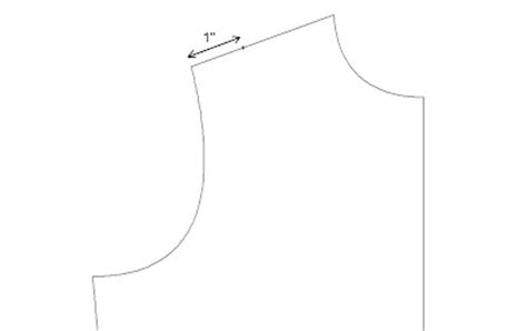 how to draw boat neckline the measuring tape drafting part iv necklines facings