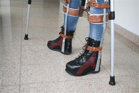 leg brace leg braces with lifted heel boot