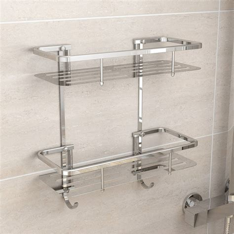 bathroom shower tidy options brass wall mounted shower tidy victoriaplum com