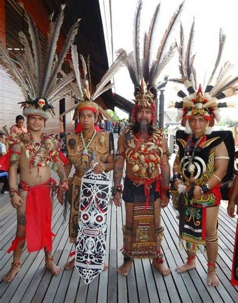 Baju Adat Dayak Bakati budaya budaya suku dayak suku dayak kalimantan barat