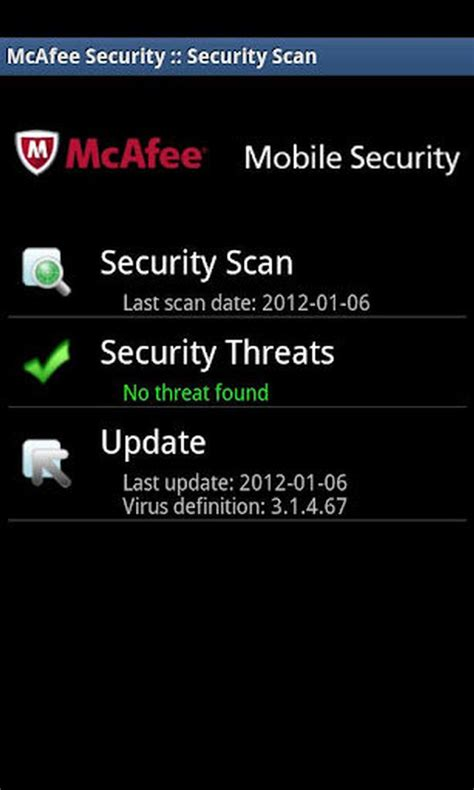 mcafee for android mcafee mobile security for android review review pc advisor