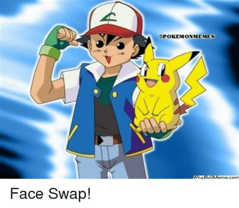 Face Switch Meme - 25 best memes about face swap and pokemon face swap and